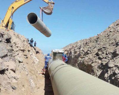 Swakopmund Mile 6 Raw Water Pipeline